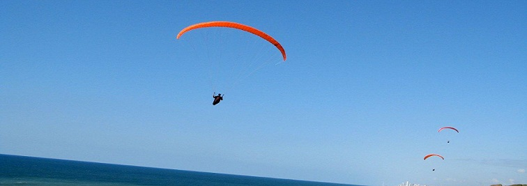 Paragliding in Florida